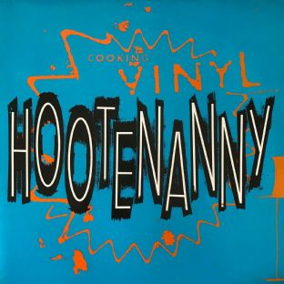 V/A - Hootenanny: Cooking Vinyl Sampled (LP) (VG-/VG)